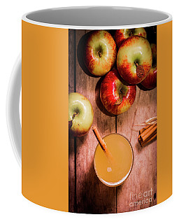 Fresh Apple Cider With Cinnamon Sticks And Apples Coffee Mug