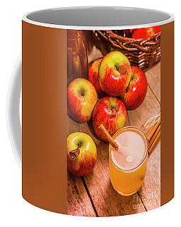 Fresh Apple Juice With Cinnamon Coffee Mug