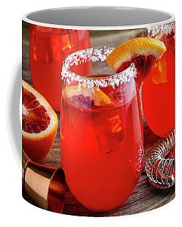 Fresh Blood Orange Margaritas Coffee Mug by Teri Virbickis