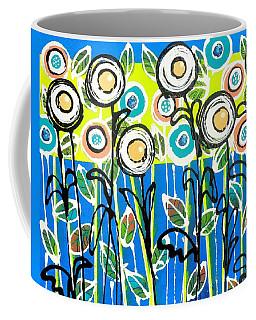 Fresh Blue Flowers Coffee Mug
