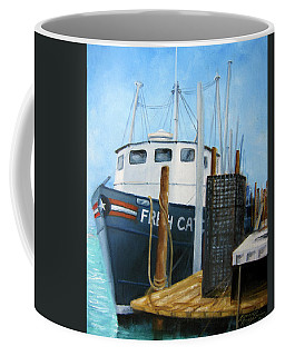 Fresh Catch Fishing Boat Coffee Mug