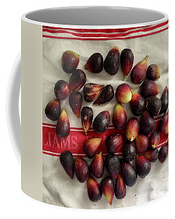 Coffee Mug featuring the photograph Fresh Figs by Kim Nelson