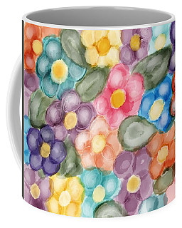 Fresh Flowers Coffee Mug by Paula Brown