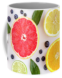 Fresh Fruit Coffee Mug by Teri Virbickis