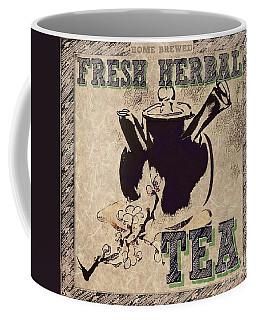 Fresh Herbal Tea Coffee Mug