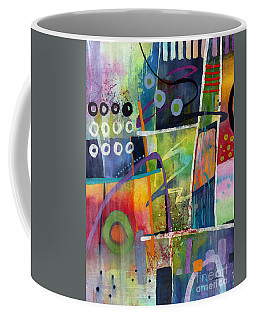 Coffee Mug featuring the painting Fresh Jazz by Hailey E Herrera