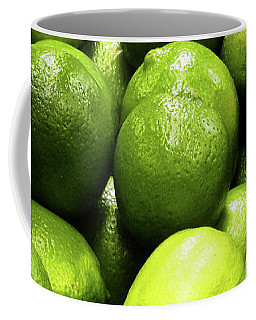 Fresh Limes Coffee Mug
