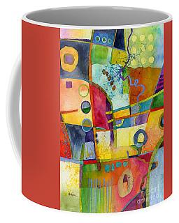 Coffee Mug featuring the painting Fresh Paint by Hailey E Herrera