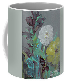 Coffee Mug featuring the painting Fresh Start  by Robin Maria Pedrero