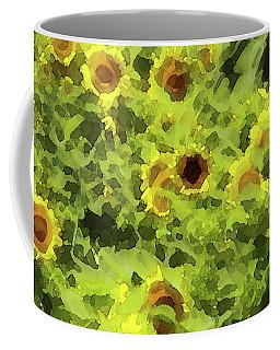 Fresh Sunflowers Coffee Mug