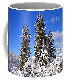 Fresh Winter Solitude Coffee Mug by Will Borden