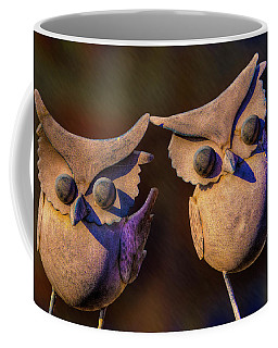 Coffee Mug featuring the photograph Frick And Frack by Paul Wear