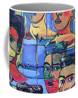 Frida Blue And Orange Coffee Mug