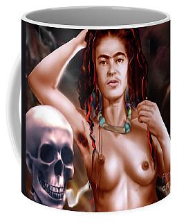 Frida Kahlo And Friend Coffee Mug