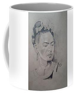 Frida Kahlo Sketch  Coffee Mug