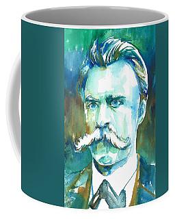 Friedrich Nietzsche Watercolor Portrait.1 Coffee Mug