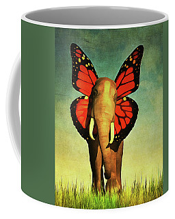 Friendly Elephant Coffee Mug