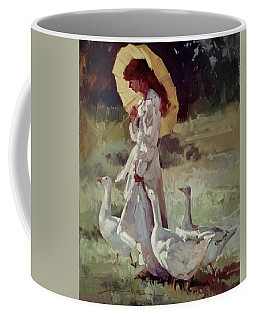 Friendly Flock Coffee Mug