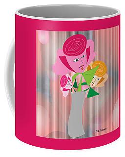 Friendly Flowers Coffee Mug