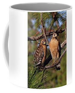 Friendly Raptors Coffee Mug