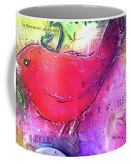 Coffee Mug featuring the digital art Friends Always by Claire Bull