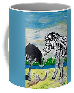 Friends Coffee Mug by Jonathon Hansen