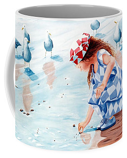 Friends - Prints From Original Oil Painting Coffee Mug
