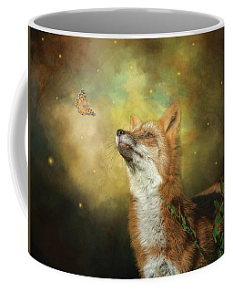 Friends On A Firefly Evening Coffee Mug