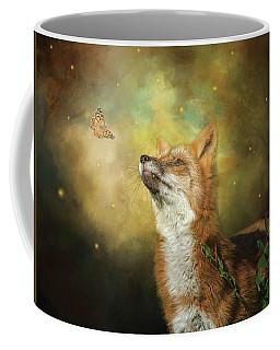Friends On A Firefly Evening Coffee Mug