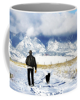 Friends On A Walk Coffee Mug