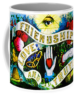 Friendship - Vintage Poster Coffee Mug