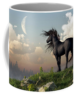 Friesian Moon Coffee Mug