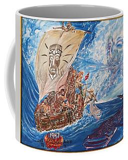 Friggin In The Riggin - Kon Tiki Expedition Coffee Mug