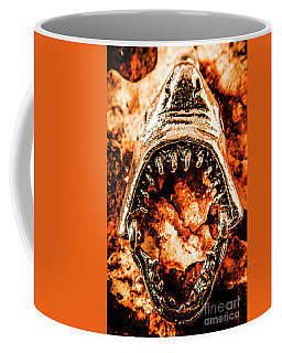 Frightening Marine Scene Coffee Mug