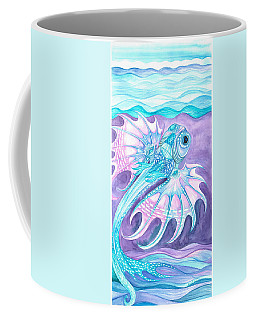 Frilled Fish Coffee Mug