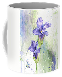 Fringed Gentian Coffee Mug