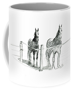 Friesian Horses Coffee Mug