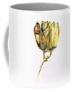 Coffee Mug featuring the painting Fritillaria by Frances Marino