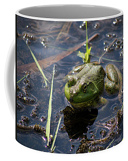 Coffee Mug featuring the photograph Frog  by Trace Kittrell