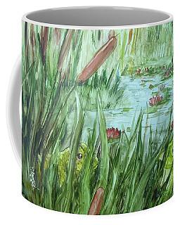 Frog Went A-courtin Coffee Mug
