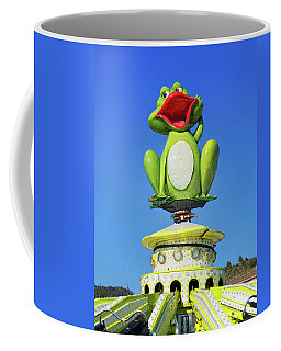 Froggy Coffee Mug by Don Pedro De Gracia