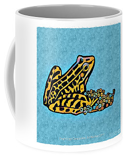 Coffee Mug featuring the digital art Frog's Eggs by Art MacKay