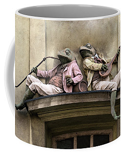 Frogs Sculpture Coffee Mug