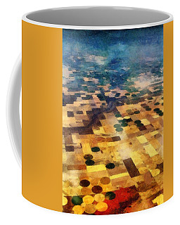 Coffee Mug featuring the digital art From Above by Michelle Calkins