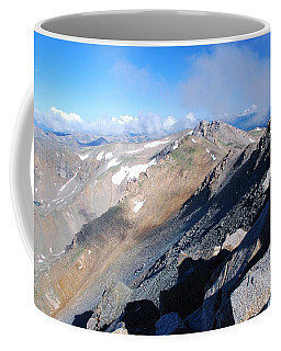 Coffee Mug featuring the photograph From Atop Mount Massive by Cascade Colors