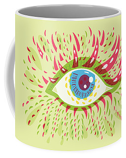 From Looking Psychedelic Eye Coffee Mug