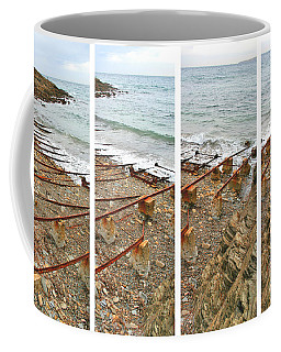 Coffee Mug featuring the photograph From Ship To Shore by Stephen Mitchell