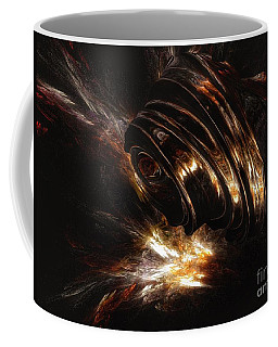 Coffee Mug featuring the digital art From The Beyond by Isabella F Abbie Shores FRSA