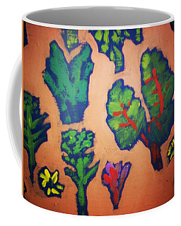 Coffee Mug featuring the painting From The Earth 2 by Winsome Gunning