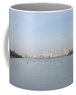 From The Ferry Boat - John Newman - Woolwich Arsenal - London Coffee Mug by Mudiama Kammoh